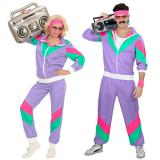 "Kostüm ""80er Sportfan"" 2-tlg."