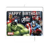 "Kuchenkerze ""Avengers Assemble"" 9 x 7 cm"