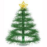 """Lametta-Tischdeko """"Weihnachtsbaum"""" 41 cm"""