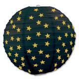 "Lampion ""Glamour Star"" 3er Pack-gelb"