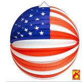"Lampion ""USA"" 25 cm"