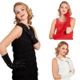 """Lange Handschuhe """"Glamour-Girl"""" 40 cm"""