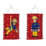 """Laterne """"Mutiger Feuerwehrmann Sam"""" 28 cm"""