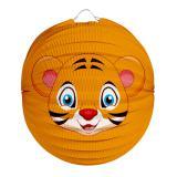 "Laterne ""Niedlicher Tiger"" 23 cm"
