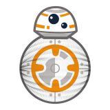 Laterne Star Wars BB 8 25 cm