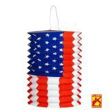 "Laterne ""USA"" 28 cm"