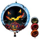 LED-Folienballon Halloween mit Farbwechsel 65 cm