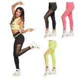 "Leggings mit Cutouts ""Neon"""