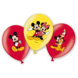 "Luftballons ""Micky ist fröhlich"" 6er Pack"