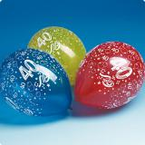 Luftballons 40. Geburtstag 5er Pack