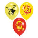 """Luftballons """"Auf in die Wildnis"""" 6er Pack"""