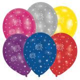 "Luftballons ""Feuerwerk"" 6er Pack"