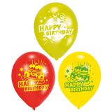 "Luftballons ""Happy Birthday Kuchen"" 6er Pack"