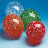 Luftballons Herzlichen Glückwunsch 5er Pack
