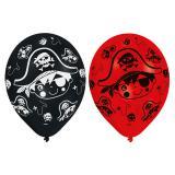 """Luftballons """"Kleiner mutiger Pirat"""" 6-tlg."""