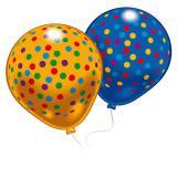 """Luftballons """"Kunterbunte Kreise"""" 8er Pack"""