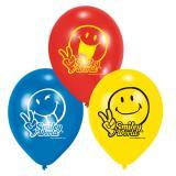 "Luftballons ""Lustige Smilies"" 6er Pack"