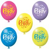 "Luftballons ""Party"" 6er Pack"