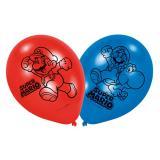 "Luftballons ""Super Mario"" 6er Pack"