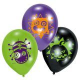 """Luftballons """"Freaky Monster Show"""" 6er Pack"""