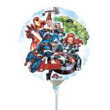 """Luftbefüllter Folien-Ballon """"Tollkühne Avengers"""" 17 cm"""