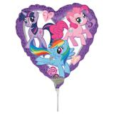 "Luftbefüllter Folien-Ballon ""My Little Pony"" 18 cm"