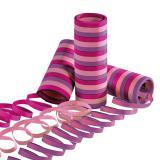 Luftschlangen Party in Rosa, Pink und Lila 2er Pack