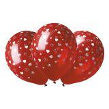 """Lutfballons """"Herzchen"""" in Rot 5er Pack"""