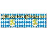 Metallic Banner Oktoberfest 36 x 120 cm