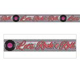"Metallic Banner ""Rockin the 50s"" 760 cm"