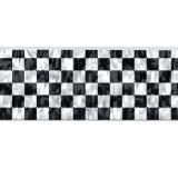"""Metallic Flatter-Banner """"Zielflagge"""" 120 cm"""