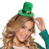 """Mini-Hut """"St. Patrick's Day"""" mit Haarreif"""