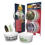 """Muffin- und Cupcake-Förmchen """"Star Wars"""" 50er Pack"""