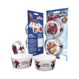 """Muffin- und Cupcake-Förmchen """"Spiderman"""" 50er Pack"""