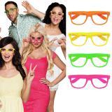 "Neon-Brillen ""Farbenrausch"" 4er Pack"