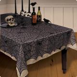 Netz-Tischdecke Halloween 152 x 213 cm