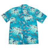 "Original Hawaiihemd ""Beautiful turquoise Ocean"""