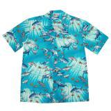 "Original Hawaiihemd ""Beautiful turquoise Ocean"""