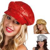Pailletten-Mütze