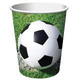 """Pappbecher """"Fußball im Tor!"""" 8er Pack"""