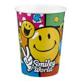 "Pappbecher ""Lustige Smilies"" 8er Pack"
