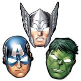 "Pappmasken ""Avengers"" 8-tlg."