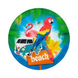 "Pappteller ""Beach-Party"" 8er Pack"