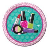 "Pappteller ""Beauty Accessoires"" 8er Pack"