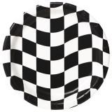 """Pappteller """"Black & White"""" 8er Pack"""