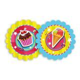 """Pappteller """"Candy"""" 8er Pack"""