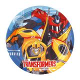 "Pappteller ""Fantastische Transformers"" 8er Pack"