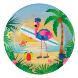 "Pappteller ""Flamingo Party"" 8er Pack"