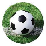 """Pappteller """"Fußball im Tor!"""" 8er Pack"""