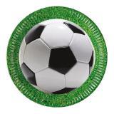 """Pappteller """"Fußball-Leidenschaft"""" 8er Pack"""